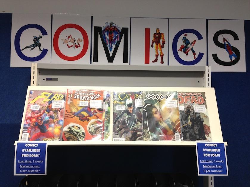 Comics Library