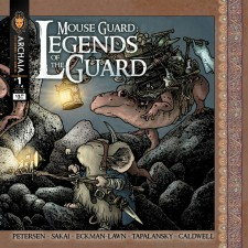 Mouse Guard Legends of the Guard v2 001 Front Cover