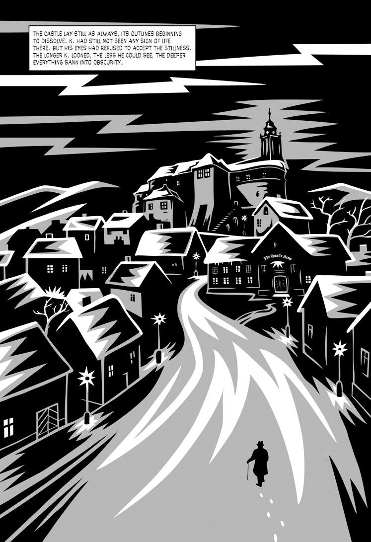 """The Castle"", analysis of the novel by Franz Kafka"