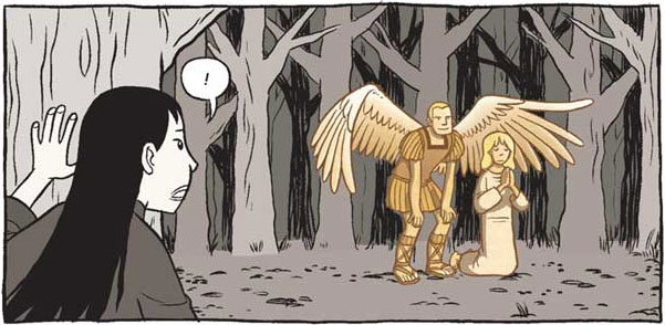 From Saints by Gene Luen Yang (First Second)