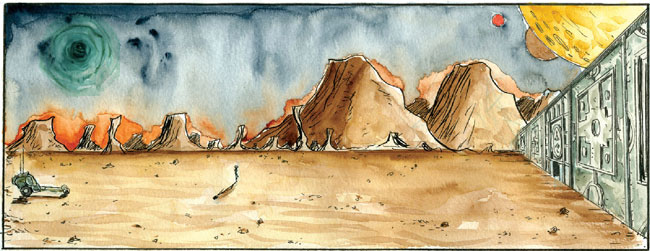 Trillium by Jeff Lemire (Vertigo Comics)