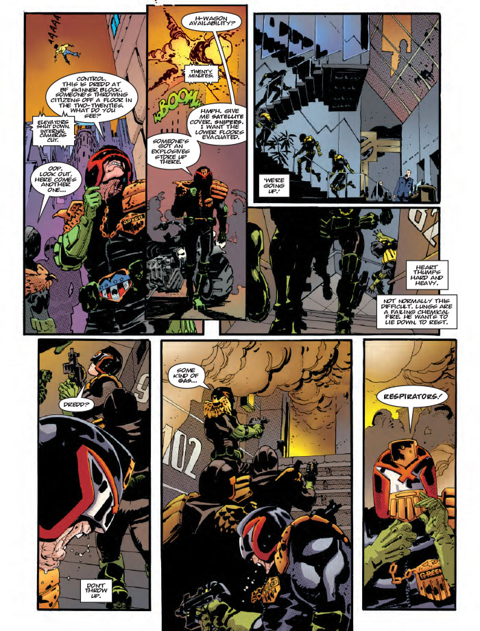 Preview: RM Guera Draws Judge Dredd in 'The Man Comes Around