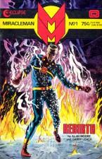 Miraclelman (Alan Moore, Garry Leach; Eclipse Comics)