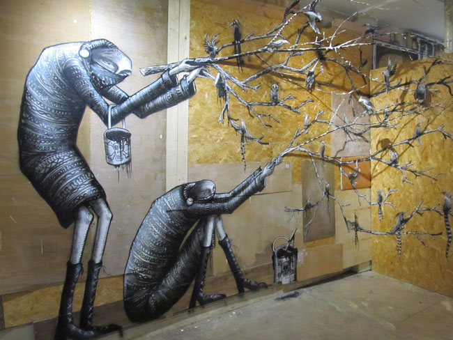 Phlegm: The Bestiary (Howard Griffin Gallery, London)
