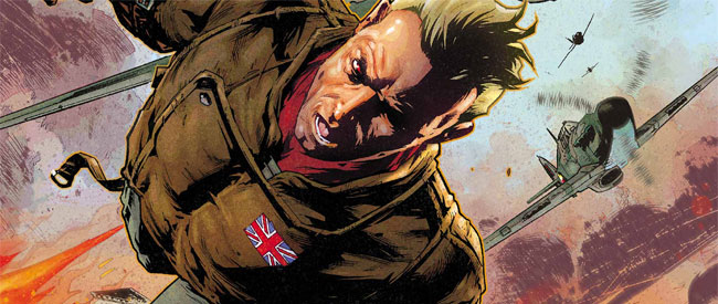 The Royals: Masters of War #1 (Rob Williams and Simon Coleby; Vertigo Comics)