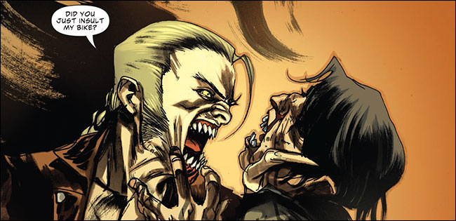 Skinner Sweet in American Vampire: Second Cycle #1 (Vertigo Comics; Scott Snyder & Rafael Albuquerque)
