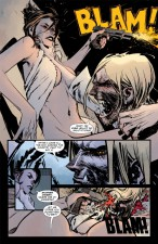 Felicia Book and Skinner Sweet in American Vampire (Vertigo Comics)