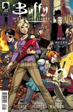 Buffy S10 #1 cover