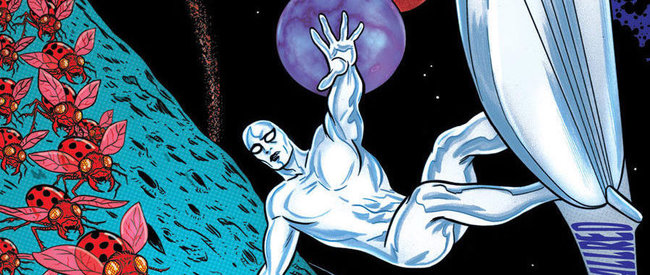 Silver Surfer 1 by Dan Slott and Mike Allred (Marvel Comics)