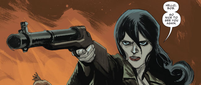 Pearl Jones in American Vampire: Second Cycle #1 (Vertigo Comics; Scott Snyder & Rafael Albuquerque)