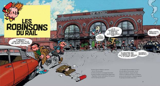 Les Robinsons Du Rail by Franquin (Dupuis)
