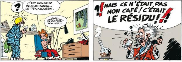 La Peur Au Bout Du Fil - by Franquin & Jidéhem (Dupuis)