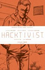 Hacktivist #2 (BOOM! Studios; Alyssa Milano, Jackson Lanzing, Collin Kelly, Marcus To, Ian Herring)