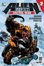 ALIEN LEGION UNCIVIL WAR #2