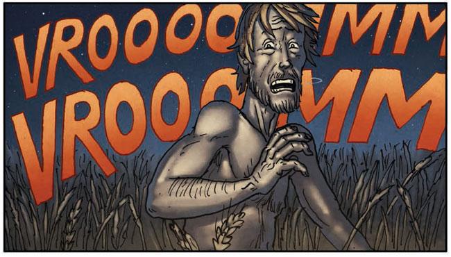 The Field #1 by Ed Brisson & Simon Roy (Image Comics)