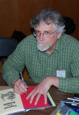 Jim Woodring at the Linework NW comics show in Portland, OR