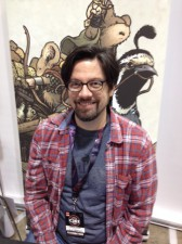 David Petersen (Mouseguard) at C2E2