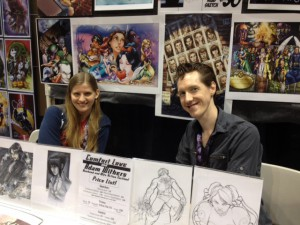 Comfort Love and Adam Withers at C2E2