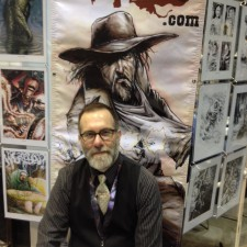 Dave Wachter at C2E2