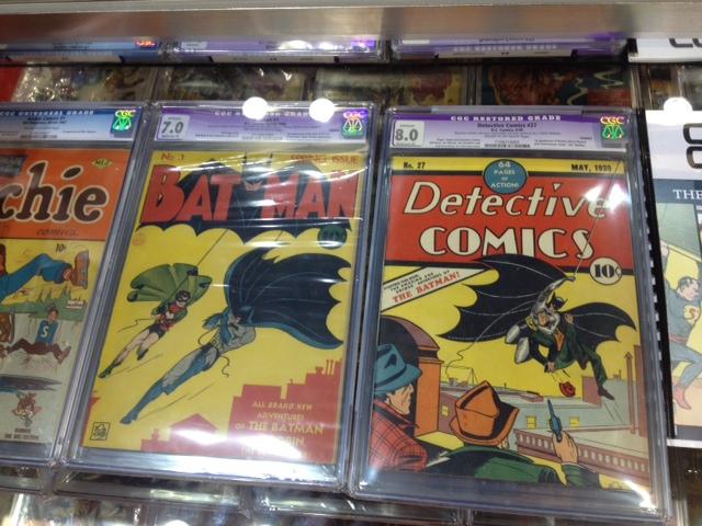 Batman #1 and Detective Comics #27 at C2E2