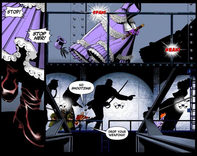 Lady Sabre by Greg Rucka and Rick Burchett