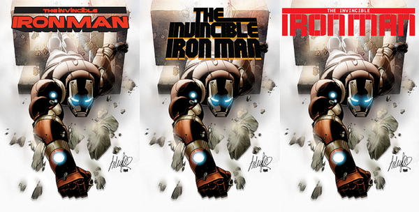 Tom Muller Iron Man logos
