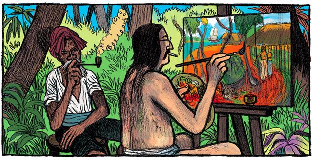 Gauguin (Maximilien Le Roy and Christophe Gaultier)