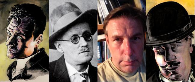 Stephen Dedalus, James Joyce, Rob Berry & Leopold Bloom (Ulysses)