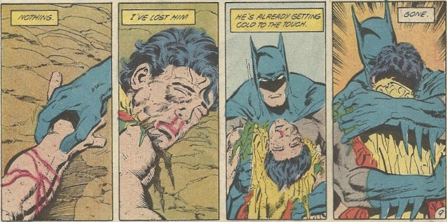 Death of Robin - Art by Jim Aparo