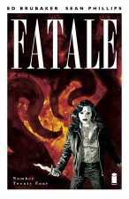 Fatale #24 cover