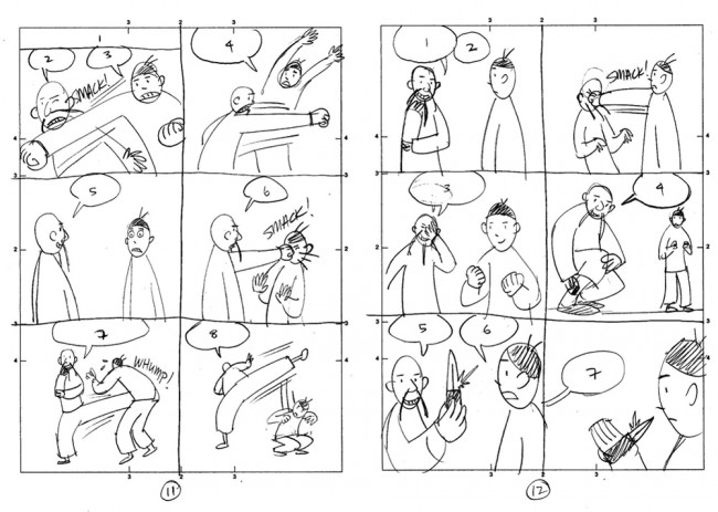 Gene Luen Yang thumbnails for The Shadow Hero