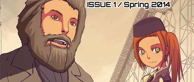 Love Machines #1 (Josh Trujillo & Ryo Kawakami; Lost His Keys Man Comics)