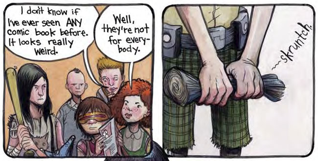 The Wrenchies by Farel Dalrymple (First Second)