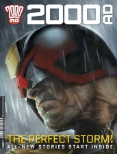 2000 AD Prog 1900 cover Judge Dredd