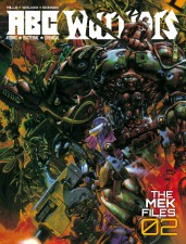 ABC Warriors: The Mek Files 02, by Pat Mills, Tony Skinner and Kev Walker (2000 AD)