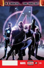 Avengers #35 Time Runs Out by Jonathan Hickman