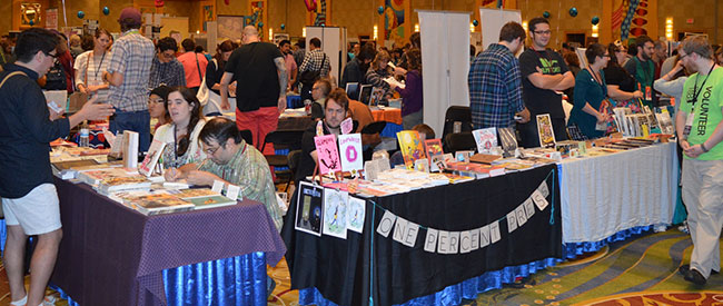 SPX 2014 Convention floor