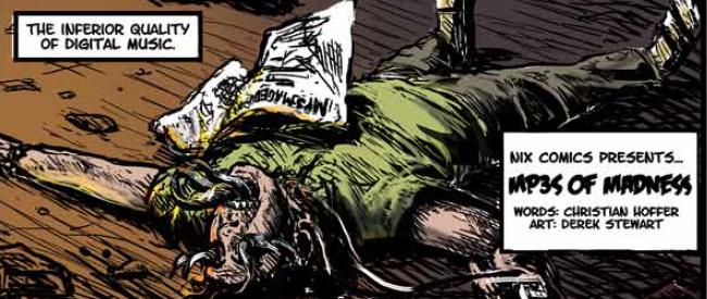 Nix Comics Quarterly: Christian Hoffer and Derek Stewart