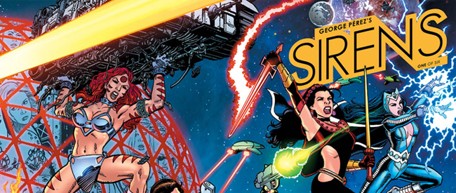 George Perez's Sirens (BOOM! Studios)