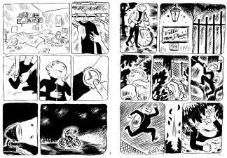 Nu by Sacha Goerg (Oily Comics)