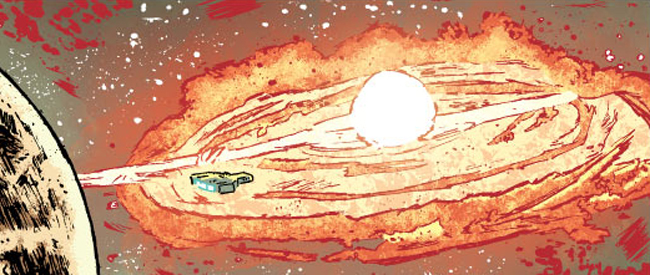 Roche Limit #1, by Michael Moreci and Vic Malhotra (Image Comics)