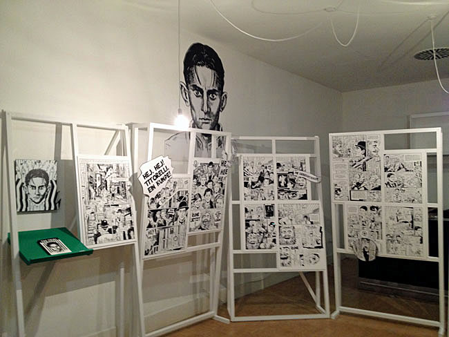 Kafka in Komiks exhibition (Goethe Institute, London)