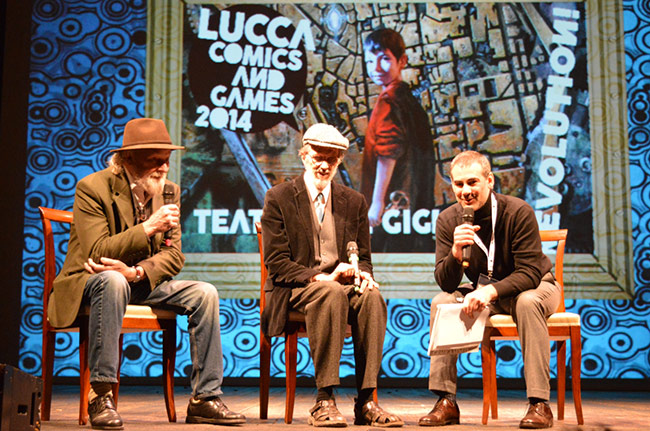 Lucca Comics and Games 2014: Robert Crumb and Gilbert Shelton