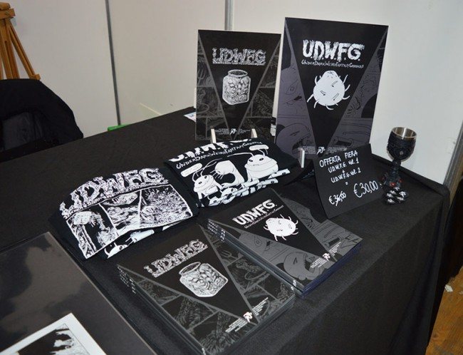 Lucca Comics and Games 2014: Hollow Press, Under Dark Weird Fantasy Grounds
