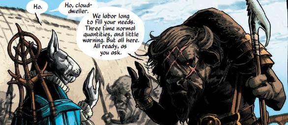 Tooth and Claw (Kurt Busiek and Benjamin Dewey; Image Comics)