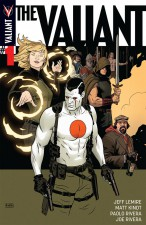 The Valiant #1 by Jeff Lemire, Matt Kindt and Paolo Riviera (Valiant Entertainment)
