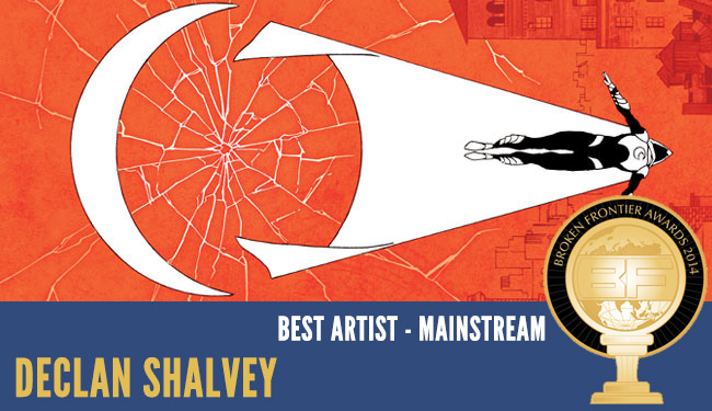 Declan Shalvey Moon Knight BF Award 2014
