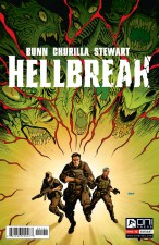Hellbreak by Cullen Bunn and Brian Churilla; variant cover by Dave Johnson (Oni Press)