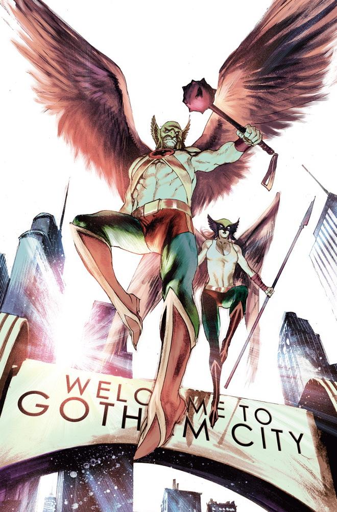 Convergence Hawkman #1 (Rafael Albuquerque)