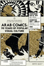 Arab Comics Exhibition Poster